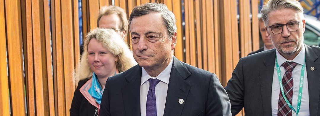 Dollar Falls – Bitcoin Flies – Draghi Speaks