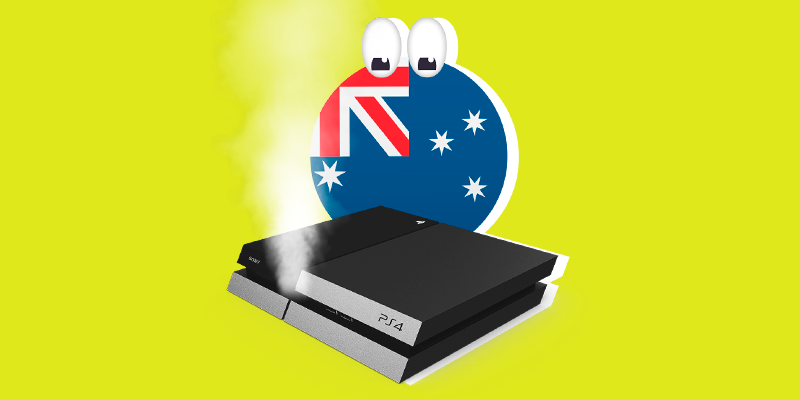 Australia Sues Sony 😵