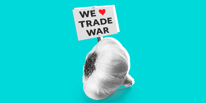 Garlic Farmers Cheer Trump 👀