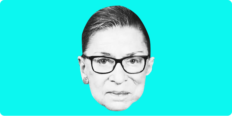 Ruth Bader Ginsburg Passed Away 👩‍⚖️