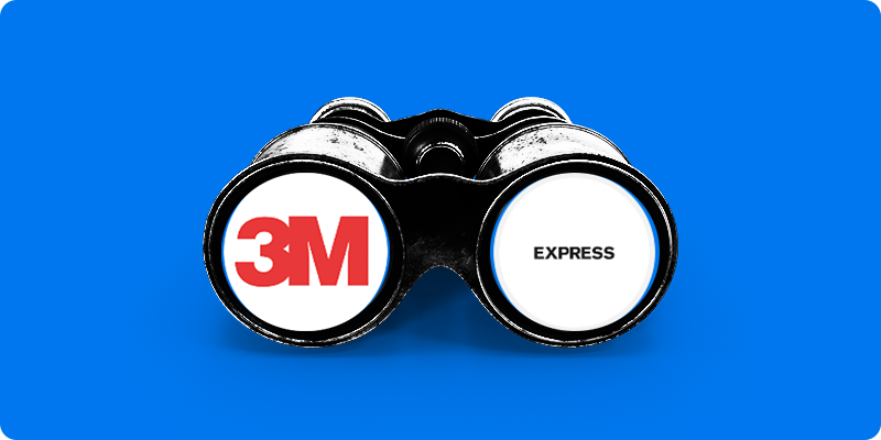 3M Announces Yet Another Job Cut and Express Shares Slide Hard in Wednesday Trading 👖