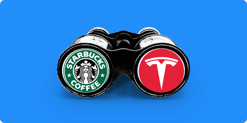 Tesla Considers Partnering with Toyota On an SUV and Starbucks Becomes A Potential Buy 🚙