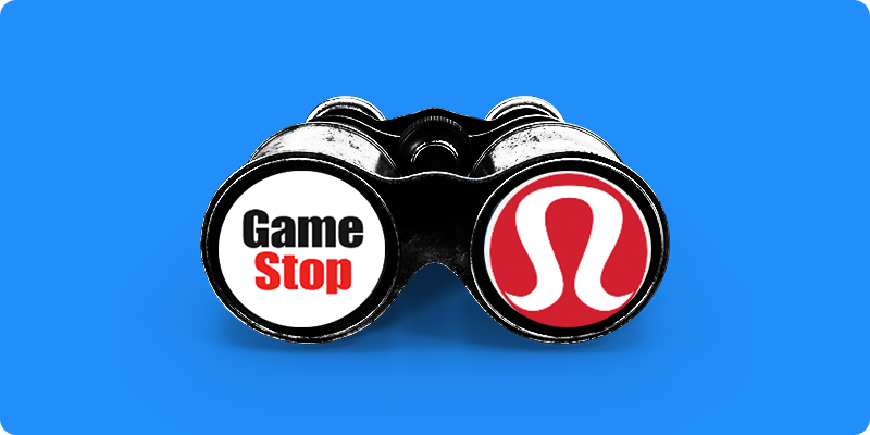 GameStop Shares Plunge on Mixed Q2 Earnings and Lululemon Shares Skyrocket After Q2 Earnings Beat